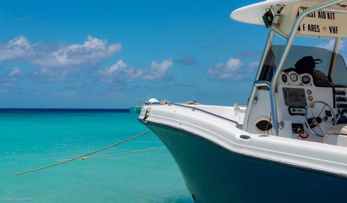 Fahrt zur Gibbs Cay