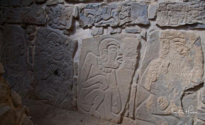 """Relief """"Danzante"""" in Monte Albán"""