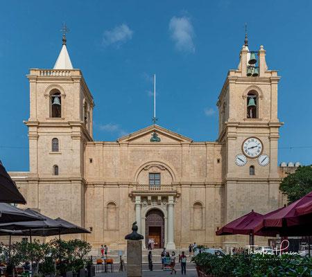 Die St. John's Co-Cathedral (maltesisch Kon-Katidral ta' San Ġwann) ist die Konkathedrale des römisch-katholischen Erzbistums Malta in Valletta.