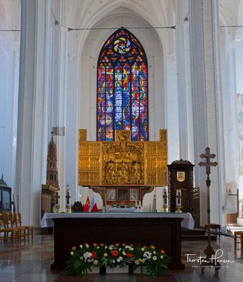 Hauptaltar der Marienkirche aus dem Jahr 1517