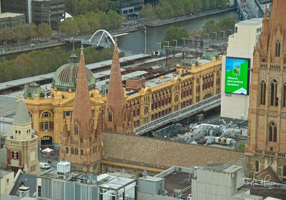 Bahnhof Melbourne Flinders Street