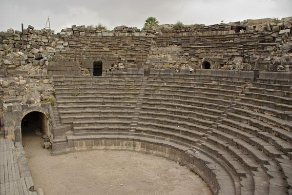 Ruinen von Gadara, einer griechisch-römische Stadt