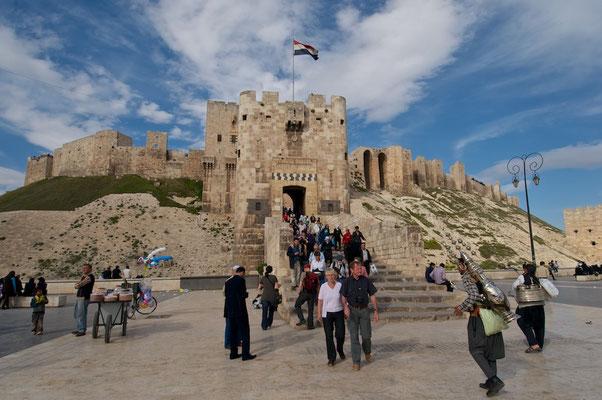 Zitadelle in Aleppo