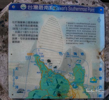 Eluanbi oder Eluan (chinesisch 鵝鑾鼻, Pinyin É luán bí; auch: Taiwan Zuinan dian 台灣最南點; Táiwān Zuì Nán Diǎn[1]) ist der südlichste Punkt der Insel Taiwan (Formosa)