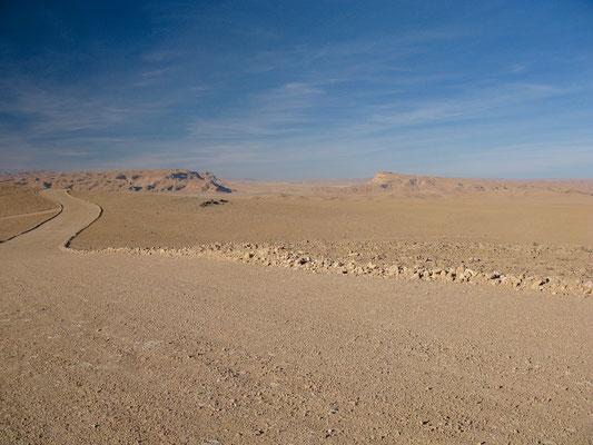 Wüstenlandschaft in Palmyra