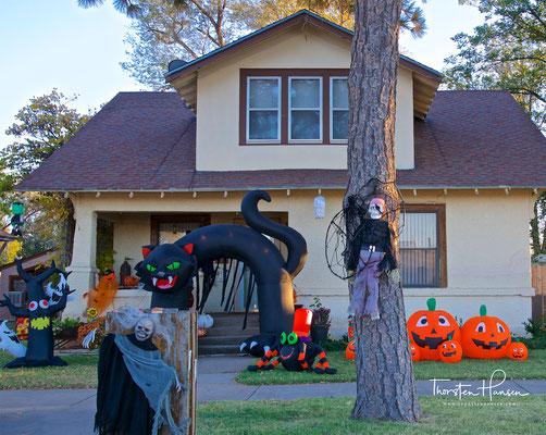 Halloween in der Alien Stadt Roswell