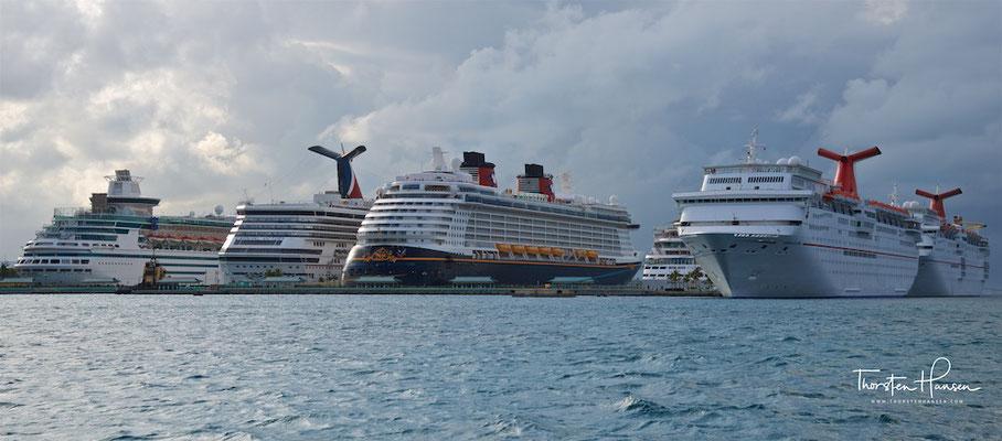 Kreuzfahrtschiffe in Nassau