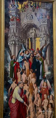 Die Geretteten auf ihrem Weg ins Himmlische Jerusalem