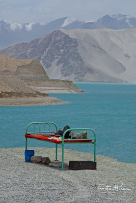 Stausee am Karakorum Highway