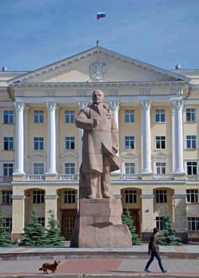 Leninstatue in Smolensk