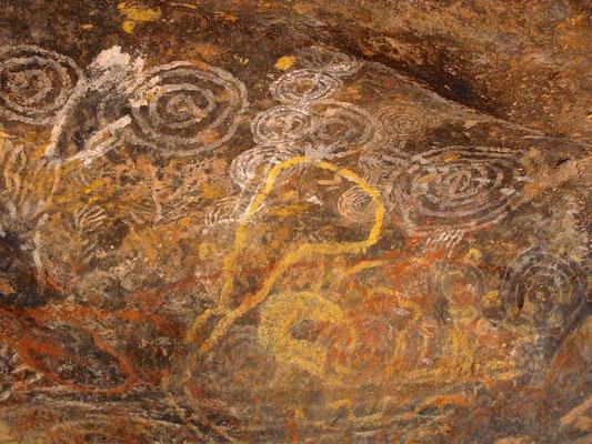 Rock art am Uluru - Ayers Rock