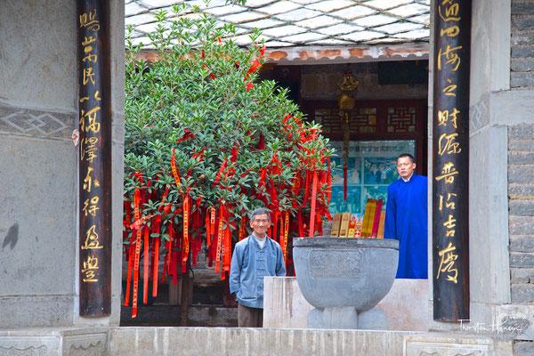 Das Dorf Tianlong Tunpu