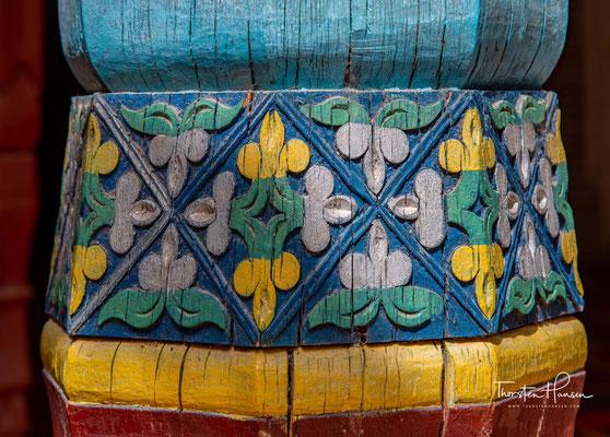 Das Mausoleum ist vielleicht das schönste Beispiel islamischer Architektur in Xinjiang.