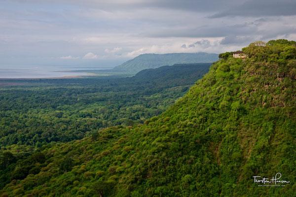 Blick über den Manyara-See
