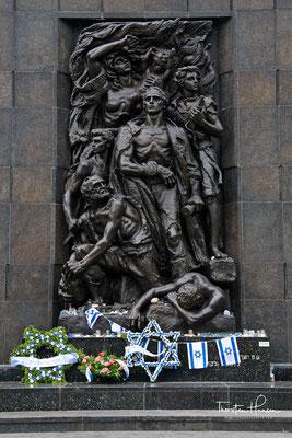Mahnmal zum Gedenken an den Aufstand im Warschauer Ghetto