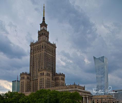 Kulturpalast in Warschau