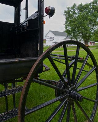 Kutsche im Amish Village in Ronks