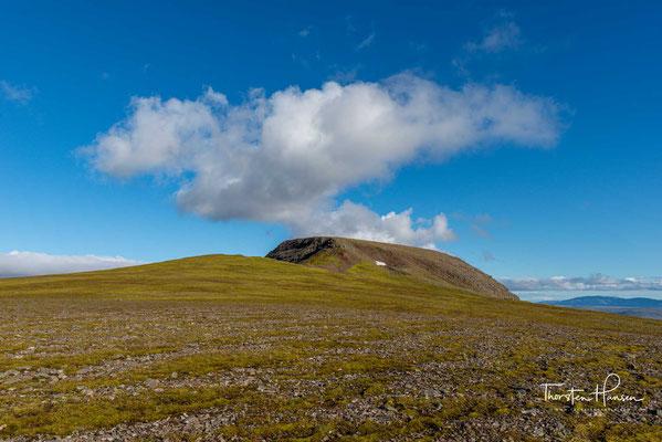 Gipfel des Mount Esja