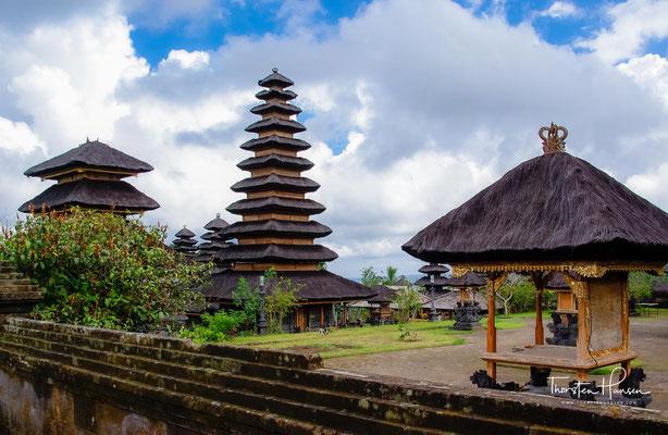 Der Tempel wurde allerdings von dem Ausbruch weitgehend verschont.
