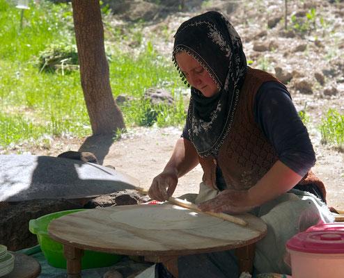Frau im  Ihlara-Tal