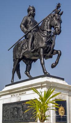 Maharana Pratap Singh (* 9. Mai 1540 in Kumbhalgarh; † 29. Januar 1597 in Chavand) war ein bedeutender Herrscher des indischen Fürstenstaates Mewar. Er war ein Gegner des Mogulherrschers Akbar I.