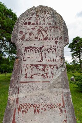 Runenstein im Freilichtmuseum Bunge