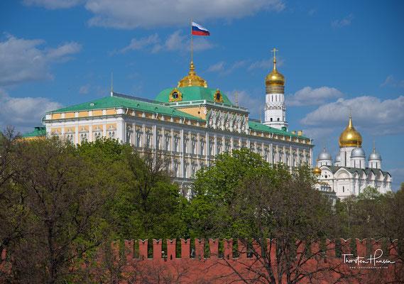 Südfassade des Großen Kremlpalastes