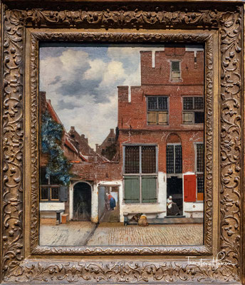 Das Sträβchen von Vermeer