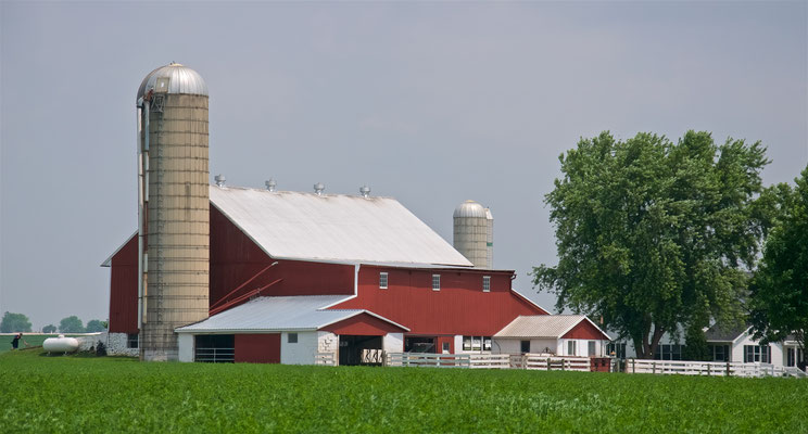 Farm im Amish Village in Ronks