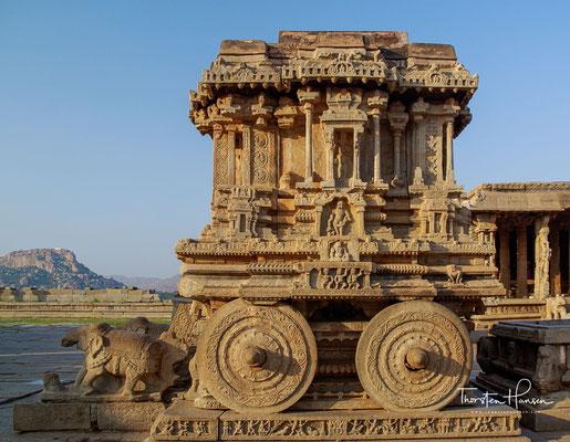 Um 1510 begann der Bau dieses Tempels unter der Herrschaft von Krishnadevaraya, 1565 wurde er teilweise wieder zerstört, aber richtig beendet wurde er nie. Auch eine offizielle Segnung fand nicht statt.