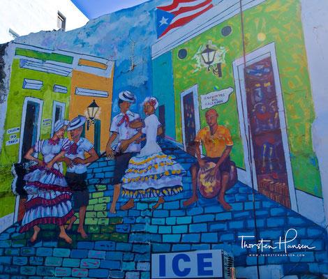 Streetart in San Juan