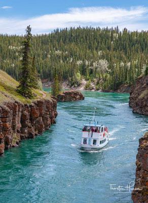 White Horse Rapids des Yukon Rivers