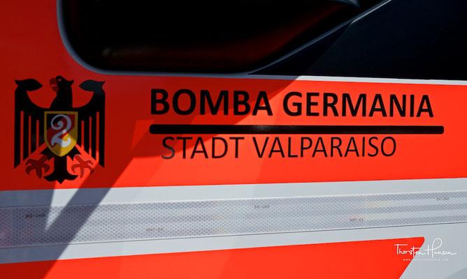"""""""Deutsche Feuerwehr"""" in Valparaíso"""