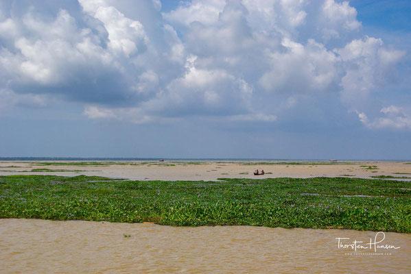 Sie verhindern, dass das Salzwasser sich mit dem Süßwasser vermischen kann. Das Süßwasser wird intensiv zur Bewässerung genutzt.