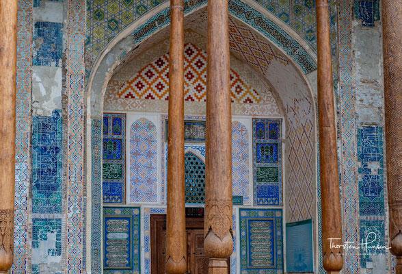 Die Bolo-Hovuz-Moschee ist eine Moschee in der usbekischen Stadt Buxoro.