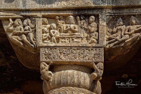 – es muss also bereits damals ein kultureller Austausch zwischen Indien und dem Mittelmeerraum stattgefunden haben.