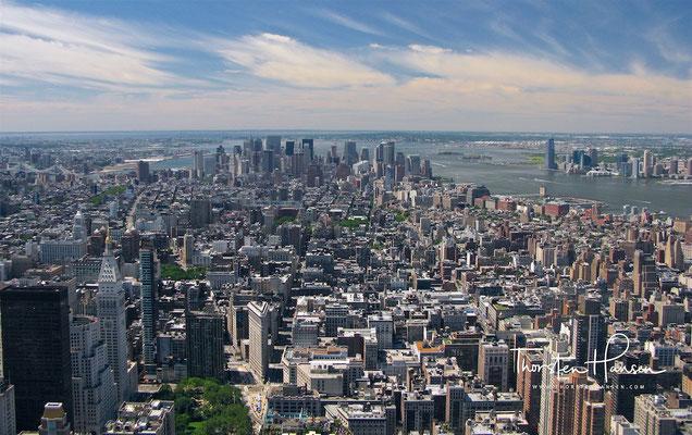 Blick über Manhattan