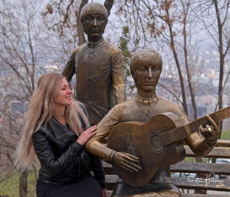 Beatles Monument auf dem Köb-Töbe