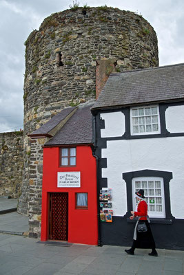 Das kleinste Haus von Grossbritannien in Conwy