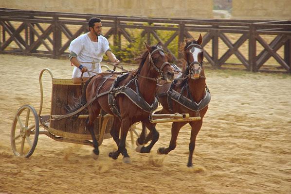 Römisches Wagenrennen in Jerash