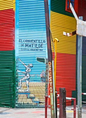 La Boca, das Arbeiterviertel in Buenos Aires