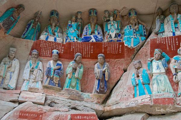 Felsskulpturen von Dazu