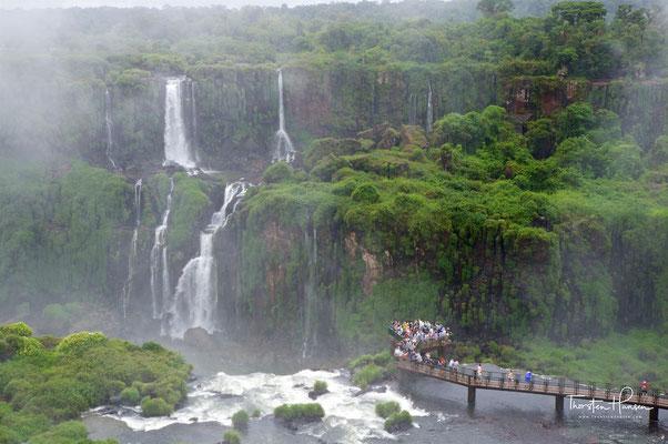 Die Wasserfälle waren eine heilige Begräbnisstätte für die Stämme der Tupi-Guarani und Paraguas,