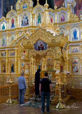 1896 besuchte Zar Nikolaus II. das Kloster und stiftete weitere Gelder zum Bau einer Ambulanz- und Therapiestation.