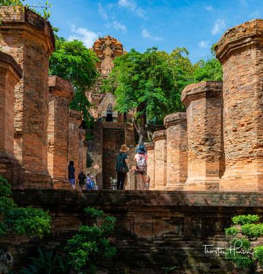 Po Nagar ist ein ehemaliger hinduistischer Tempelkomplex des Champa-Reiches in Nha Trang