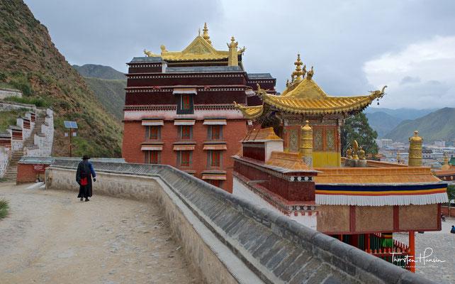 Haupttempel des Klosters Labrang
