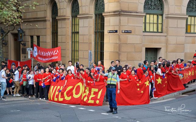 Australisch - Chinesische Freundschaft