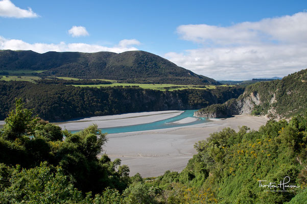 Trans Alpine von Greymouth nach Christchurch