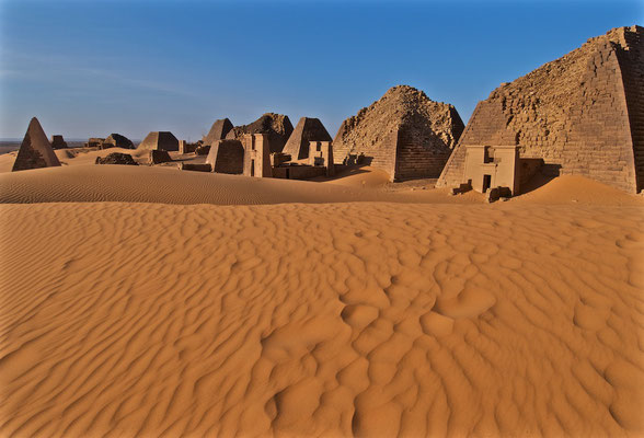 Die Pyramiden von Meroe
