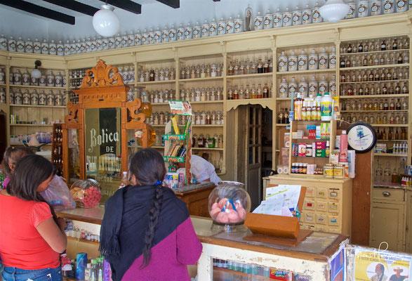 Traditionelle Apotheke in San Miguel de Allende